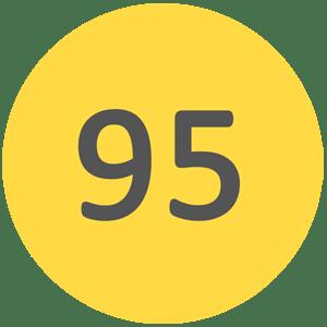 Wysokiej klasy benzyna bezołowiowa 95 oktanowa