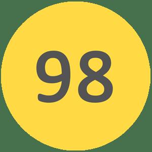 Wysokiej klasy benzyna bezołowiowa 98 oktanowa